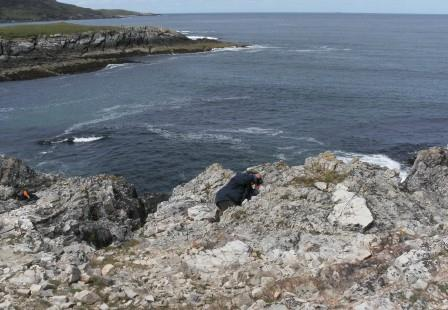 /images/SWM examining the rocks of the Durness Limestone group (7)comprweb.JPG